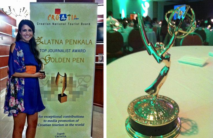 About me - Zlatna penkala and Emmy awards
